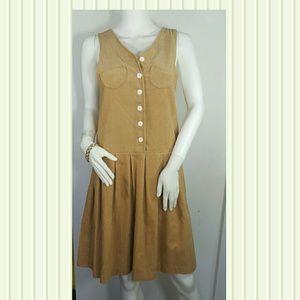 Carol Evans Vintage Size 10 Corduroy.100 % COTTON
